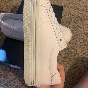 Saint Laurent Shoes - Saint Laurent sneaker off white leather